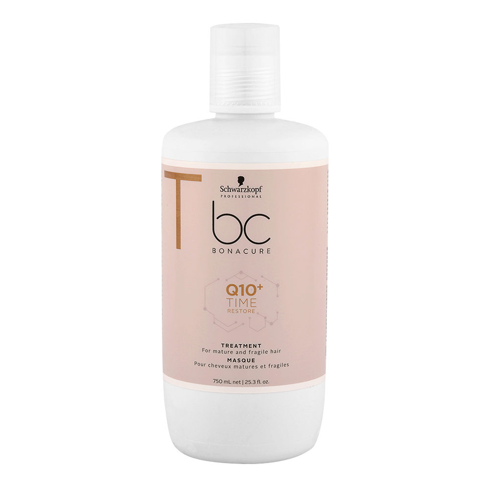 Schwarzkopf BC Bonacure Time Restore Q10 Treatment Masque 750ml - maschera capelli fragili