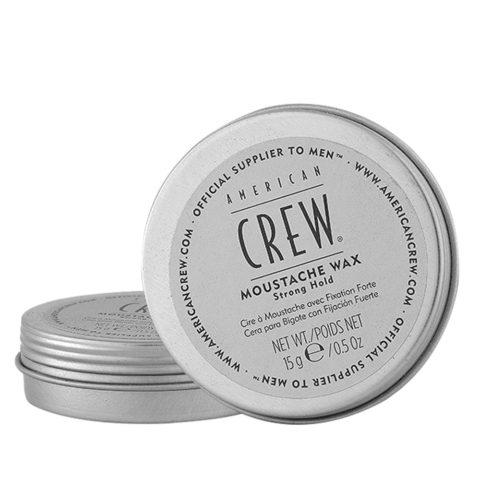 American Crew Moustache Wax Strong hold 15gr - cera per i baffi tenuta forte