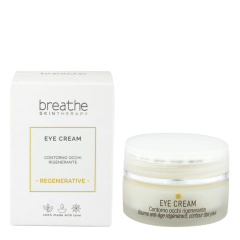 Naturalmente Breathe Eye Cream 15ml - contorno occhi rigenerante Antirughe