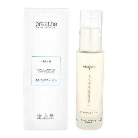 Naturalmente Breathe Brightening Cream 50ml - Crema Viso illuminante