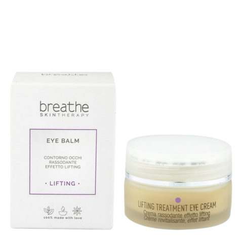 Naturalmente Breathe Lifting Eye Balm 15ml - balsamo occhi rassodante effetto lifting