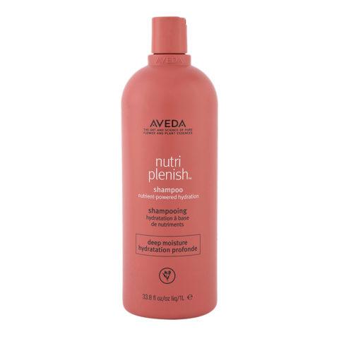Aveda Nutri Plenish Deep Moisture Shampoo 1000ml - Shampoo Idratante Ricco Capelli Grossi