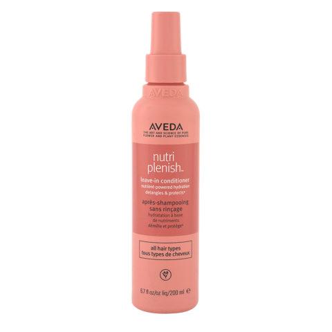Aveda Nutri Plenish Leave In Conditioner 200ml - balsamo spray idratante leggero senza risciacquo