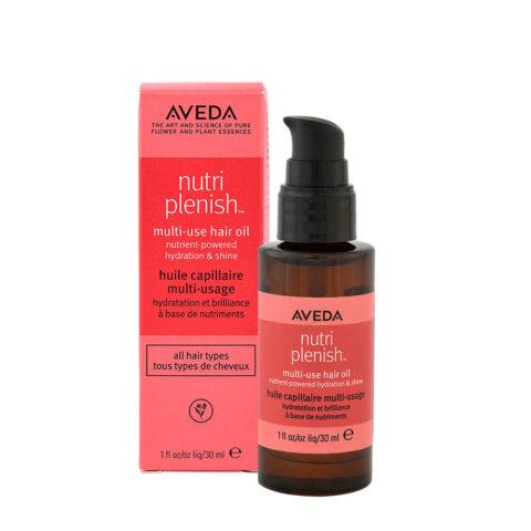 Aveda Nutri Plenish Multi Use Hair Oil 30ml - olio idratante per capelli secchi
