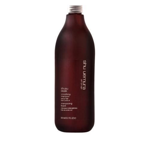 Shu Uemura Shusu Sleek Shampoo 980ml - Shampoo lisciante
