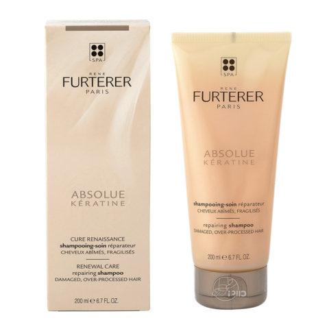 René Furterer Absolue Keratine Repairing Shampoo 200ml - shampoo ristrutturante capelli danneggiati