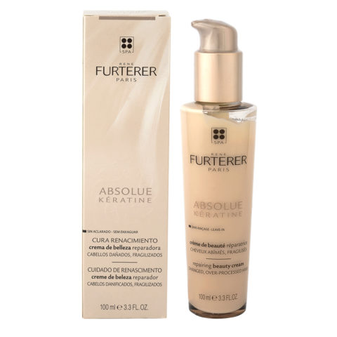 René Furterer Absolue Keratine Repairing Beauty Cream 100ml - crema per capelli danneggiati
