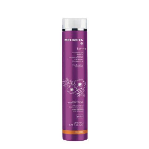 Medavita Luxviva Color Enricher Shampoo Golden Copper 250ml - shampoo colorato Rame dorato