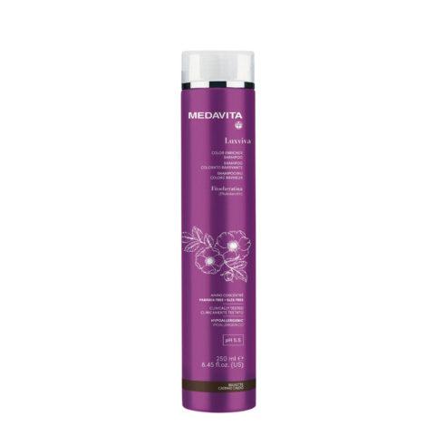 Medavita Luxviva Color Enricher Shampoo Brunette 250ml - shampoo colorato Castano Caldo