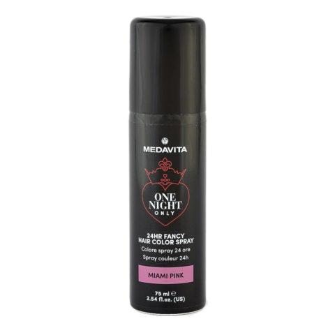 Medavita 24h Fancy Hair Color Spray Miami Pink 75ml - colore spray rosa