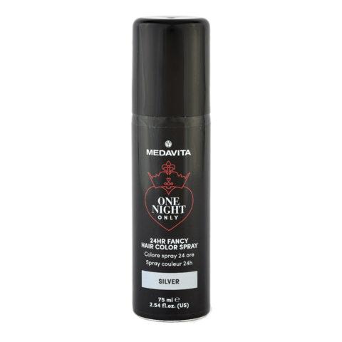 Medavita 24h Fancy Hair Color Spray Silver 75ml - colore spray argento
