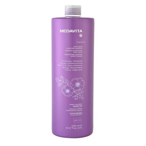 Medavita Luxviva Post Color Shampoo 1250ml - shampoo per capelli colorati