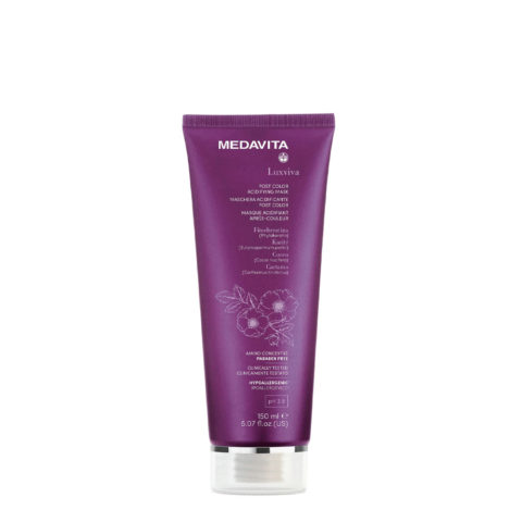 Medavita Luxviva Post Color Mask 150ml - maschera per capelli colorati
