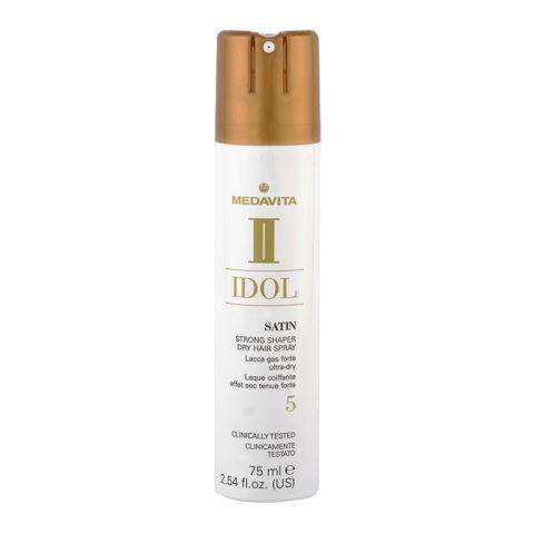 Medavita Idol Texture Satin Strong Shaper Hairspray 75ml - Lacca Gas Tenuta Forte
