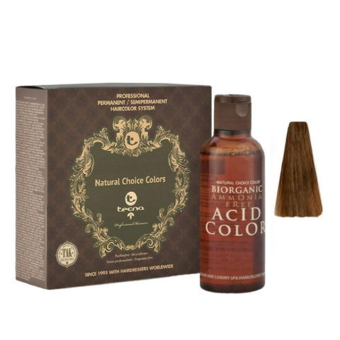 6.53 Biondo scuro wood intenso Tecna NCC Biorganic acid color 3x130ml
