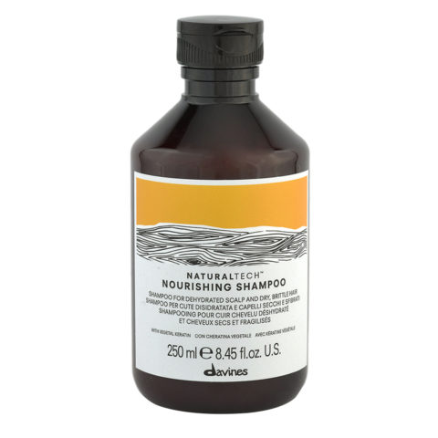 Davines Naturaltech Nourishing Shampoo 250ml - Shampoo nutriente