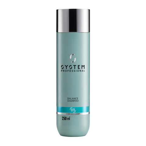 System Professional Balance Shampoo B1, 250ml - Shampoo Cute Sensibile