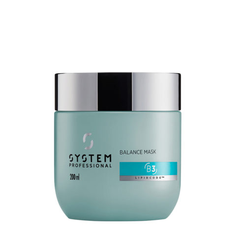 System Professional Balance Mask B3, 200ml - Maschera cute sensibile