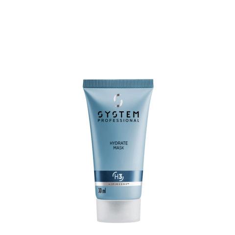 System Professional Hydrate Mask H3, 30ml - Maschera Idratante