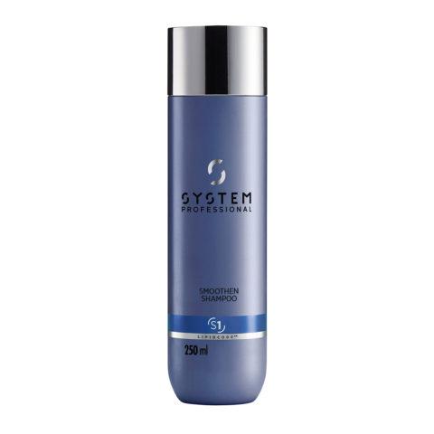 System Professional Smoothen Shampoo S1, 250ml - Shampoo Anticrespo