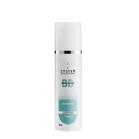 System Professional Styling Blue Shaper BB61, 150ml - Fluido Idratante Modellante