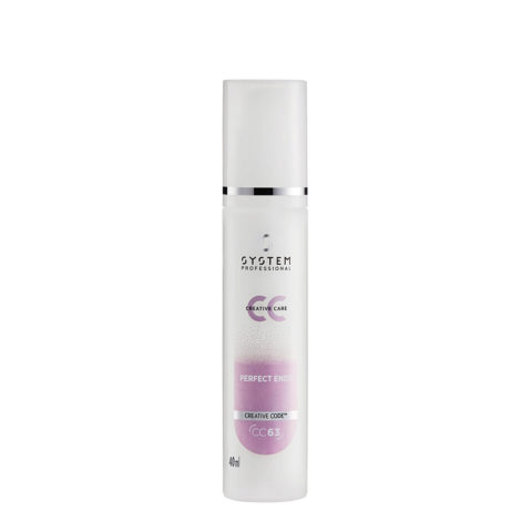 System Professional Styling CC Perfect Ends CC63, 40ml - Siero doppie punte