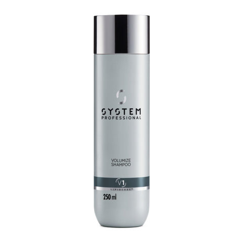 System Professional Volumize Shampoo V1, 250ml - Shampoo Volumizzante