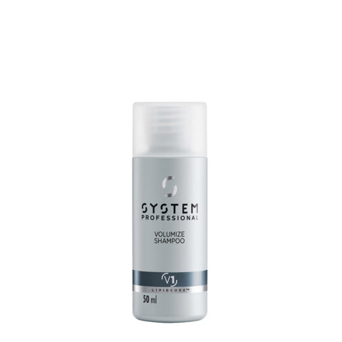 System Professional Volumize Shampoo V1, 50ml - Shampoo Volumizzante