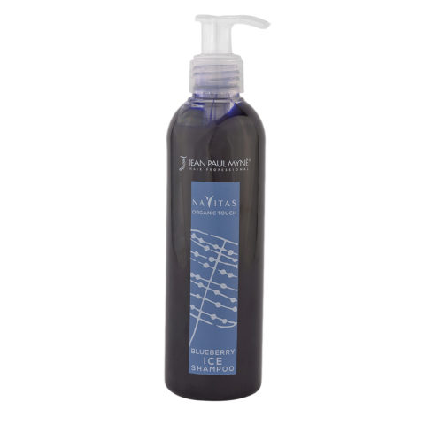 Jean Paul Myne Navitas Organic Touch shampoo Blueberry Ice 250ml - Shampoo Antigiallo Capelli Platino Bianchi