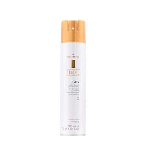 Medavita Idol Styling Satin Light Shaper Dry Hairspray 2,  300ml - Lacca Gas leggera