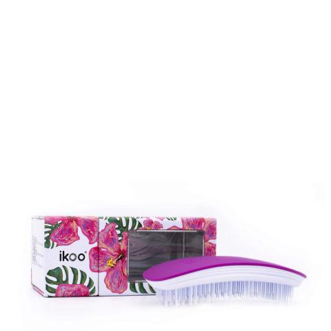 Ikoo Spazzola Ergonomica Sugar Plum - spazzola districante