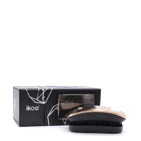 Ikoo Pocket Black Gold Digger Spazzola Tascabile Districante