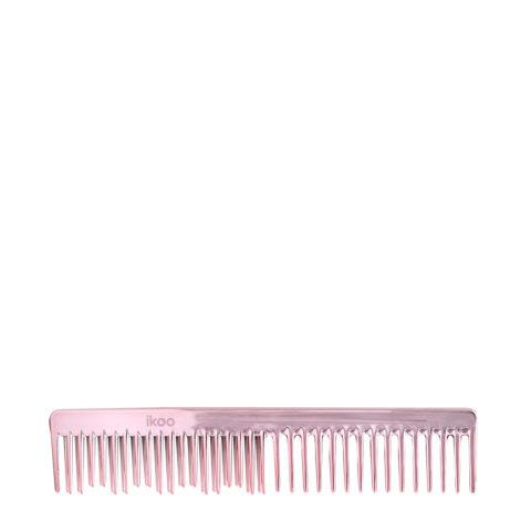 Ikoo Detangling & Easy Comb Rosé - Pettine districante rosa