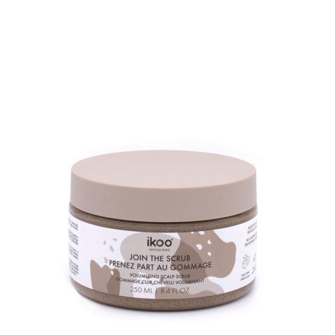 Ikoo Volumizing Sugar Scrub 250ml - esfoliante volumizzante per cute e capelli