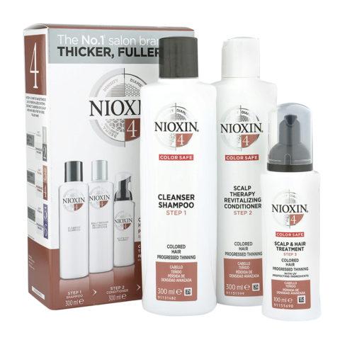 Nioxin Sistema4 Kit completo XXL Anticaduta