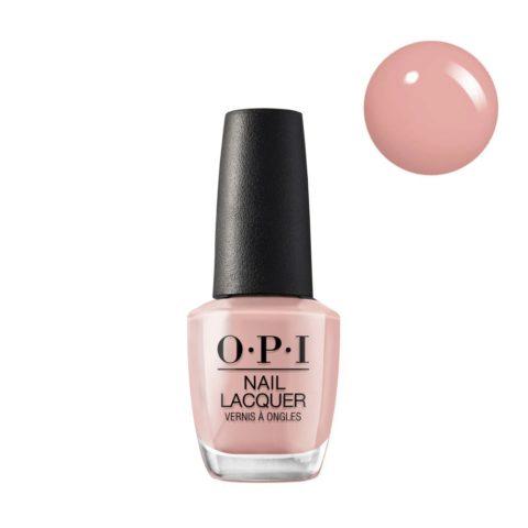 OPI Nail Lacquer NL P36 Machu Peachu 15ml - Smalto per Unghie