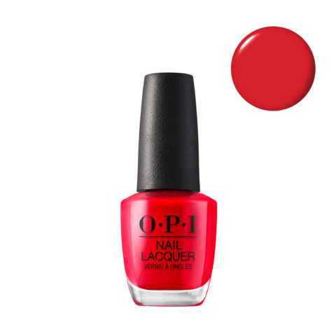OPI Nail Lacquer NL H42 Red My Fortune Cookie 15ml - Smalto per Unghie