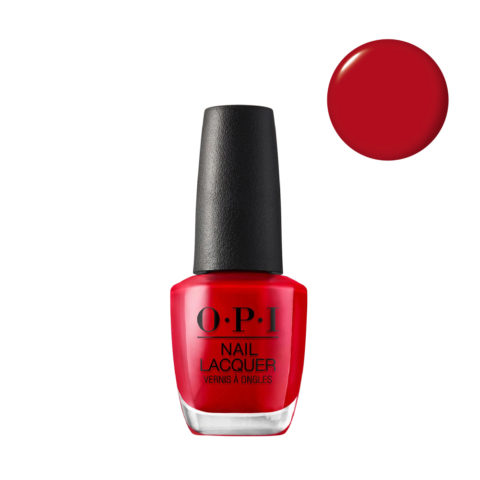 OPI Nail Lacquer NL N25 Big Apple Red 15ml - Smalto per Unghie