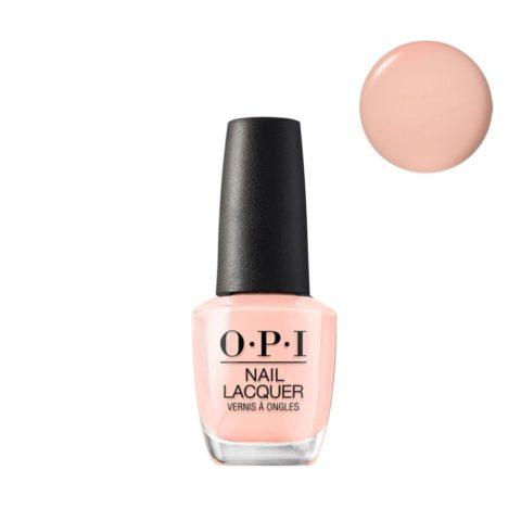 OPI Nail Lacquer NL L12 Coney Island Cotton Candy 15ml - smalto per unghie rosa chiaro