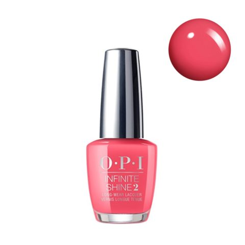OPI Nail Lacquer Infinite Shine IS L02 From Here To Eternity 15ml - smalto per unghie a lunga durata rosa salmone
