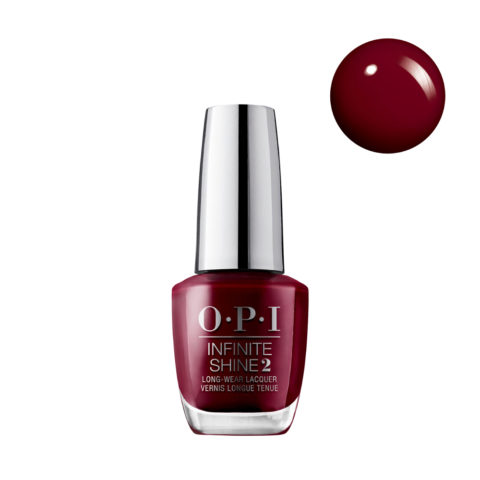 OPI Nail Lacquer Infinite Shine ISL L87 Malaga Wine 15ml - Smalto per Unghie Effetto Gel