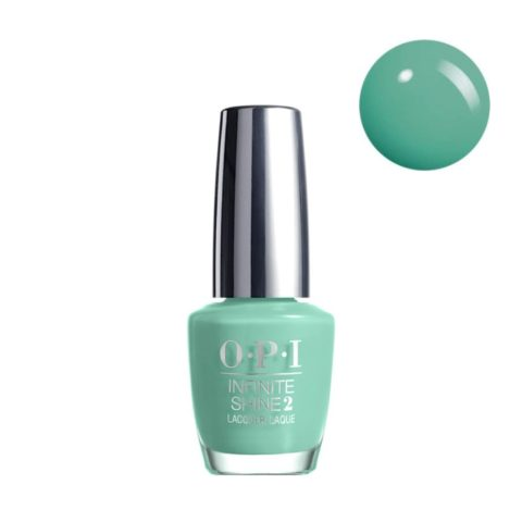 OPI Nail Lacquer Infinite Shine IS L19 Withstands 15ml - smalto per unghie a lunga durata verde mare