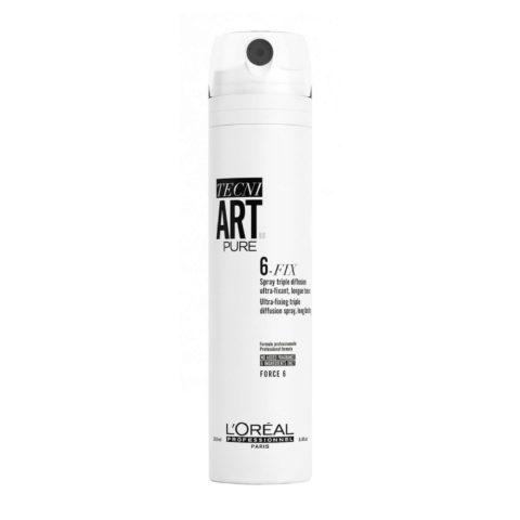 L'Oreal Tecni Art Six Fix 250ml - spray tenuta forte