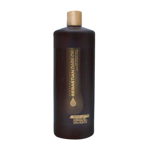 Sebastian Dark Oil Lightweight Conditioner 1000ml - Balsamo Idratante Leggero