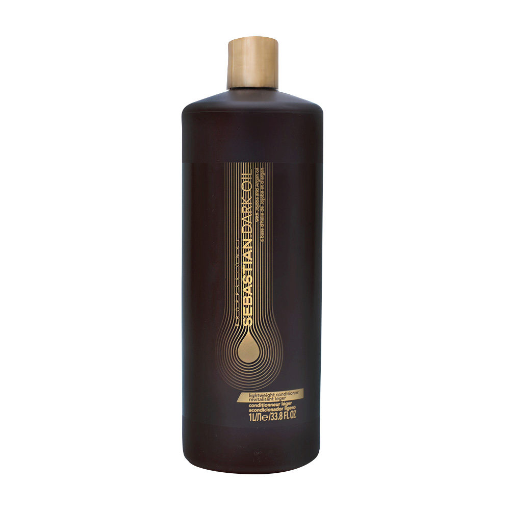 Sebastian Dark Oil Lightweight Conditioner 1000ml - Balsamo Idratante Leggero