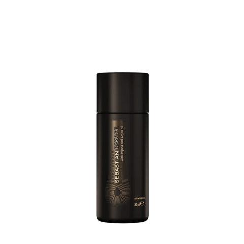 Sebastian Dark Oil Lightweight Shampoo 50ml - Shampoo Idratante Leggero
