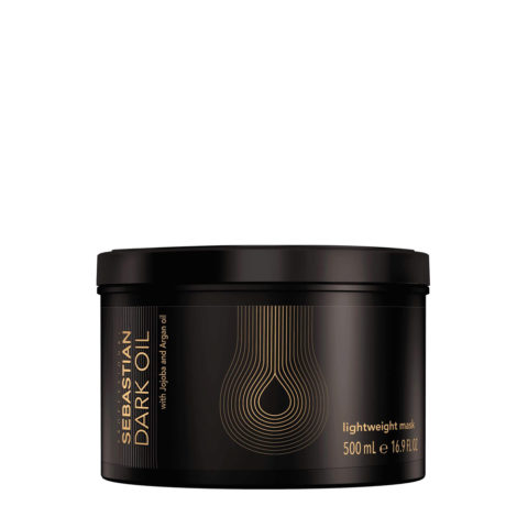 Sebastian Dark Oil Lightweight Mask 500ml - Maschera Idratante Leggera