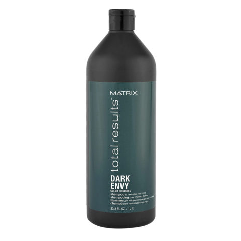 Matrix Total Results Dark Envy Shampoo 1000ml - Shampoo anti riflessi rossi