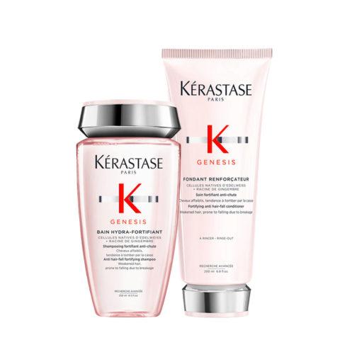 Kerastase Genesis Kit Shampoo 250ml + Balsamo 200ml Rinforzante e Idratante