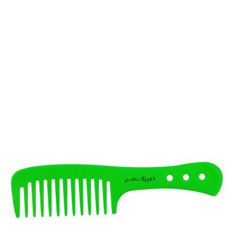 Gettin Fluo Pettine Con Manico Verde